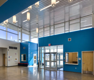 IAIA Multipurpose Performing Arts & Fitness Center Lobby