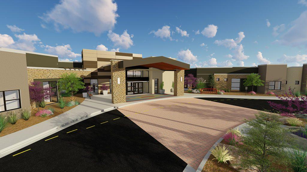 Astounding Chinle Nursing Home Breaks Ground Dyron Murphy Architects Beutiful Home Inspiration Truamahrainfo