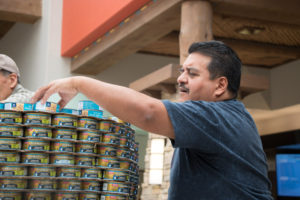 Armando at Canstruction 1