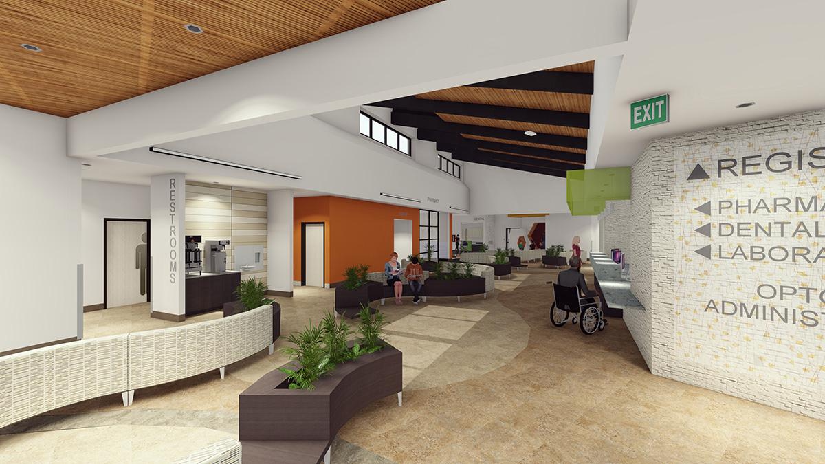 Blanding Health Center Lobby