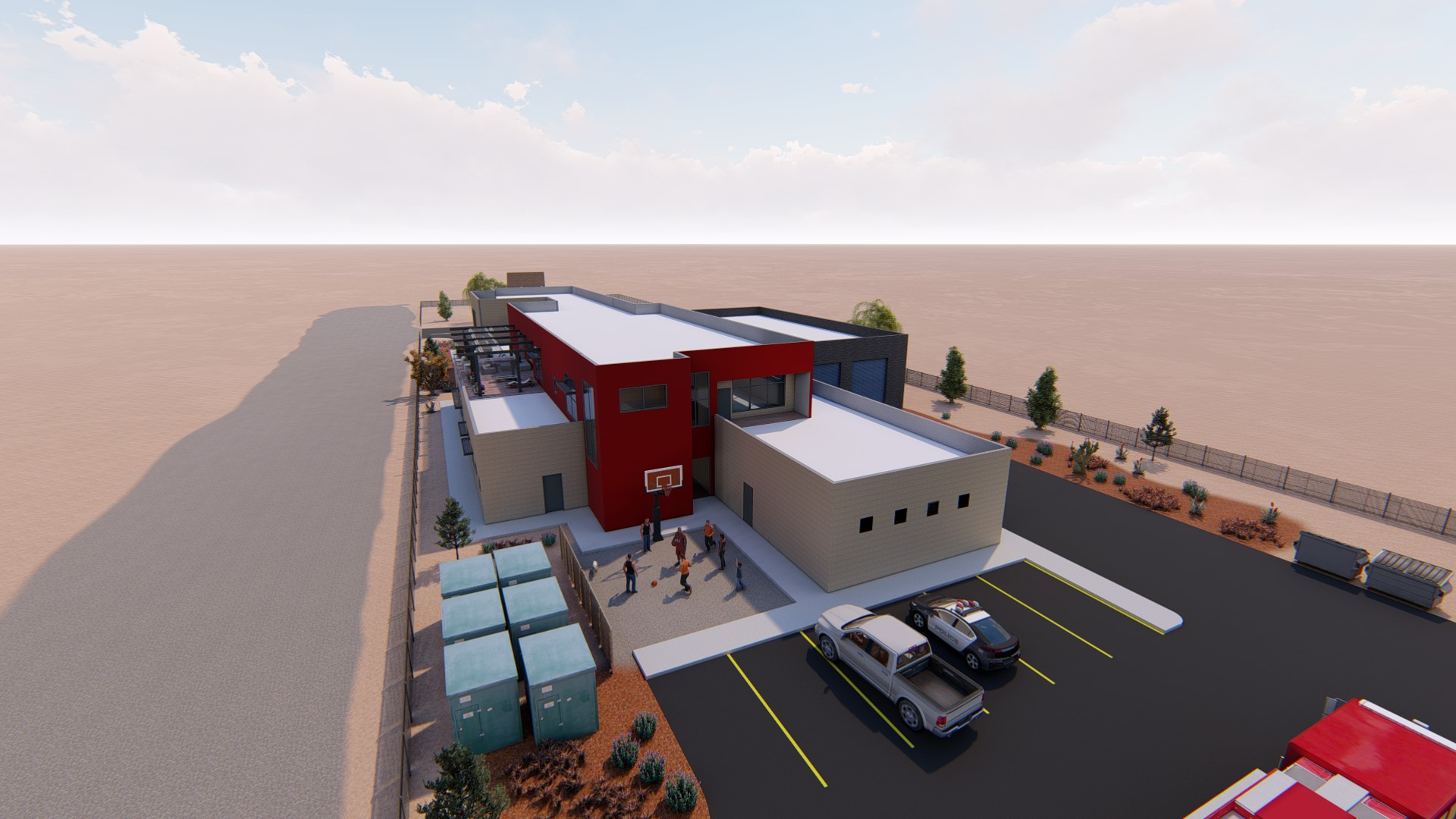 shiprock incident command center rendering
