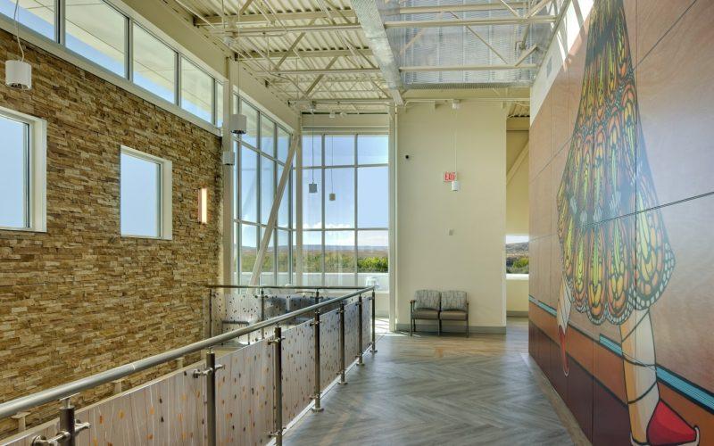 Montezuma Creek Health Center Enlarged Mural