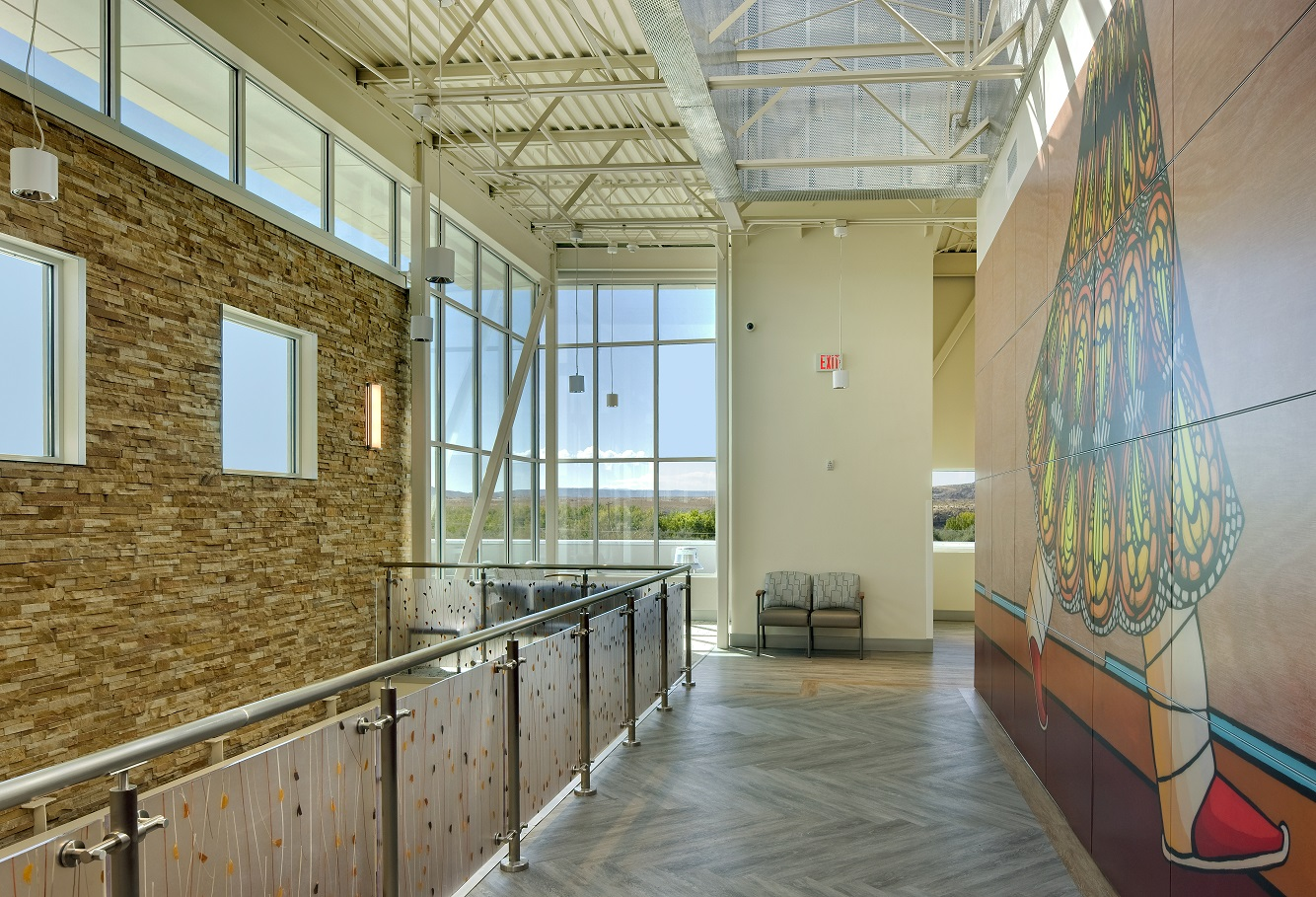 Montezuma Creek Health Center Enlarged Mural