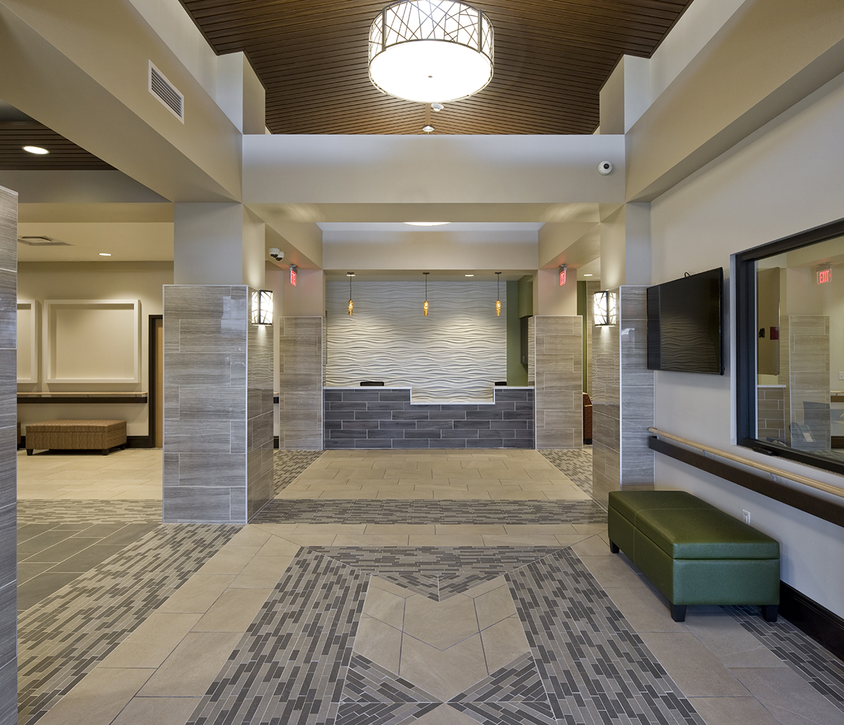Chinle Nursing Home Lobby