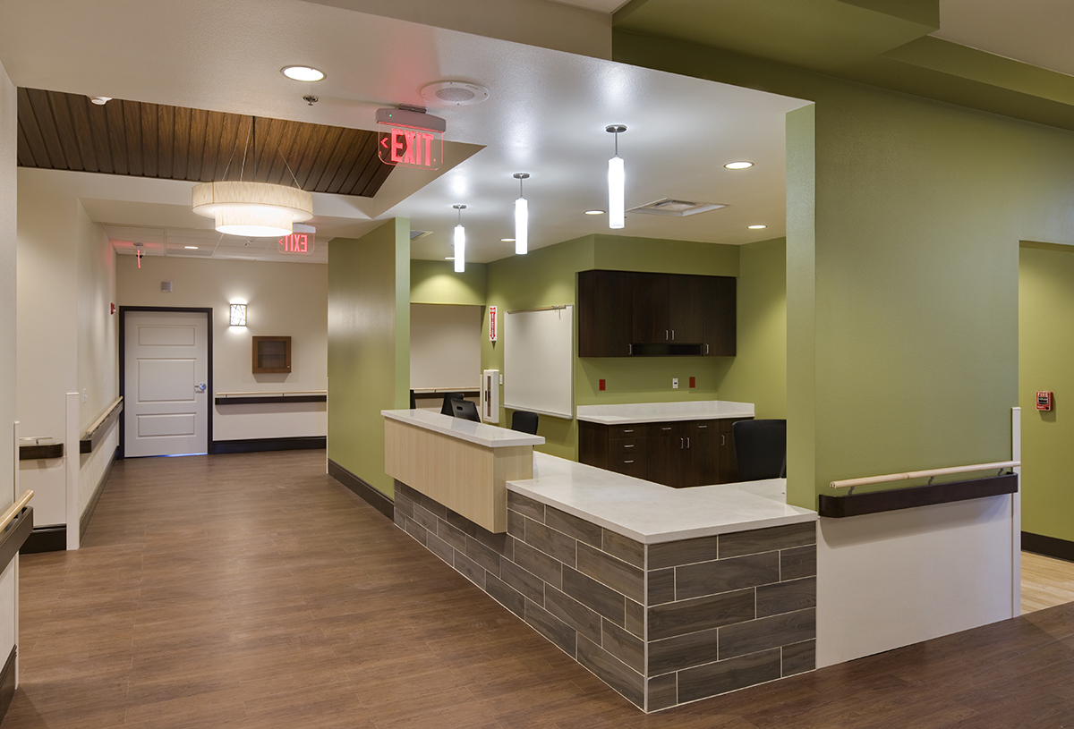 Chinle Nursing Home Nursing Station Green