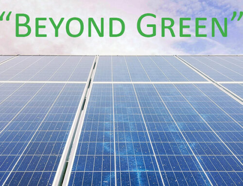 "Introducing ""Beyond Green"""